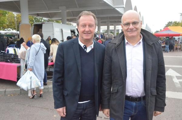 POLEMIQUE PLATRET - Les élus Didier de Carli et Alain Rousselot-Pailley demandent des explications au maire de Chalon