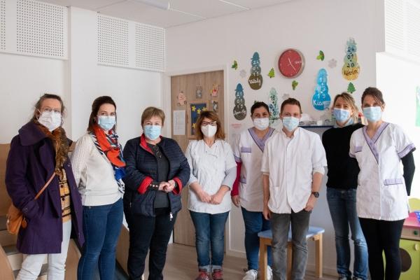 Trois structures petite enfance du Grand Chalon mobilisées pour accueillir les enfants de soignants