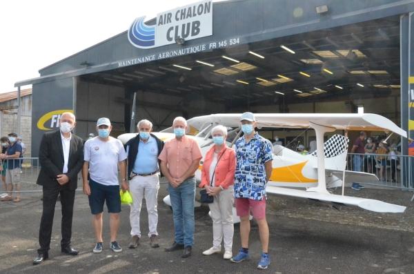 Joli succès pour les portes-ouvertes d'Air Chalon Club