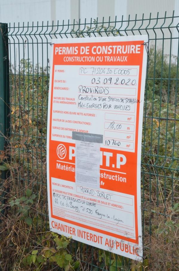 La station multi-carburants du nord de Chalon sur Saône enclenchée