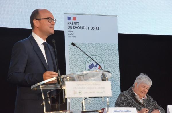 Le Pays du Chalonnais signe le premier Contrat de Relance et de Transition Écologique