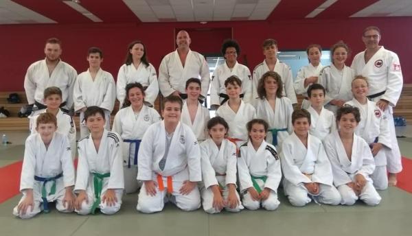 Judo et sports découvertes afin de préparer la rentrée !