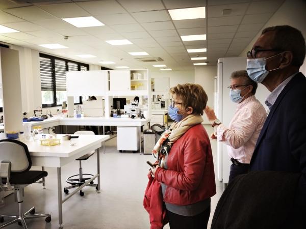 REGIONALES - Marie-Guite Dufay présente ses engagements en matière d'enseignement supérieur, de recherche et d'innovation
