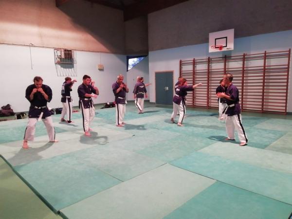 Retour sur les tatamis pour les professeurs du Yoseikan Budo Chalonnais et leurs élèves