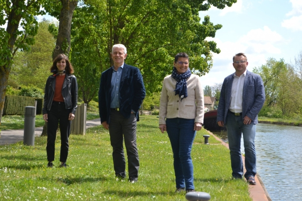 DEPARTEMENTALES - CHALON 1 - Alain Gaudray et Dominique Melin candidats en soutien à la politique d'André Accary