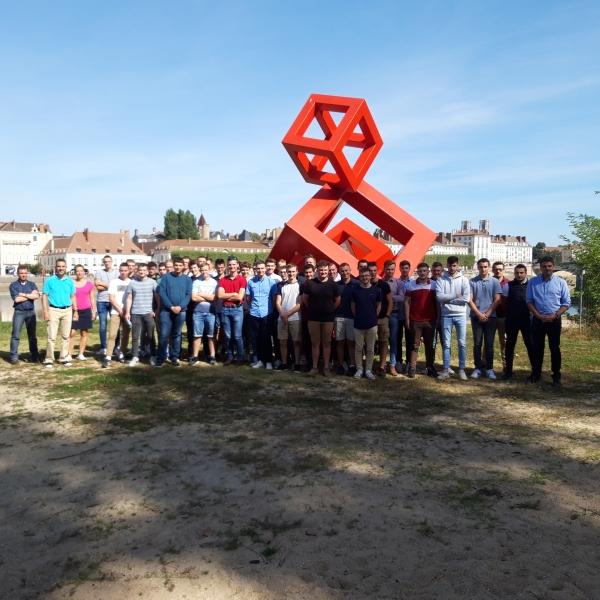 Arrivée de la nouvelle promotion en Licence Pro MTSP au sein de l'IUT de Chalon sur Saône