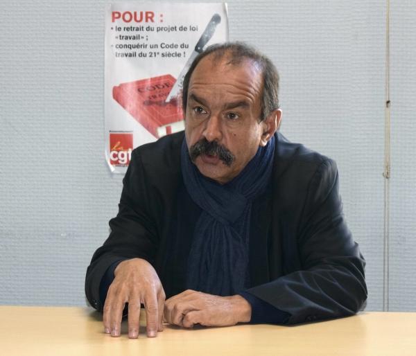 «Les questions sociales doivent rester en haut de la pile», insiste le secrétaire général de la CGT Philippe Martinez
