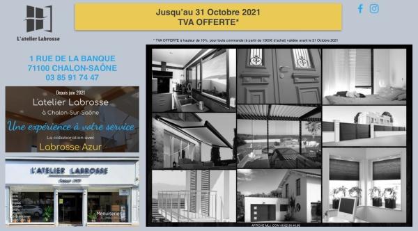 L'Atelier Labrosse, spécialisé dans la pose de menuiseries extérieures sur-mesure vous attend 1, Rue de la Banque à Chalon!