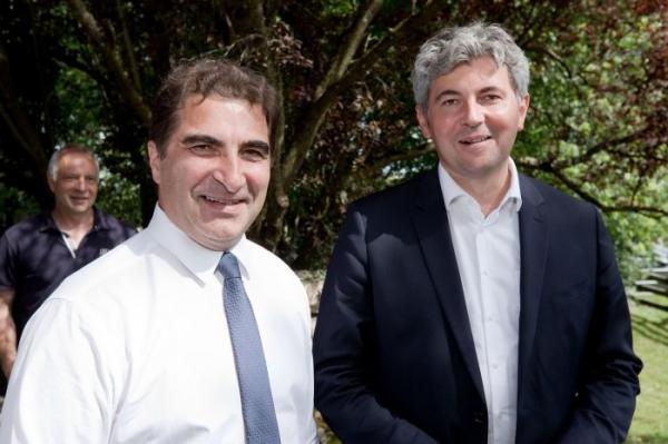 RÉGIONALES : En soutien à Gilles Platret, Christian Jacob met en avant l'«ancrage territorial» des Républicains