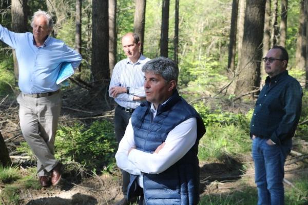 REGIONALES -  Gilles Platret veut protéger les forestiers contre le «forêt-bashing»