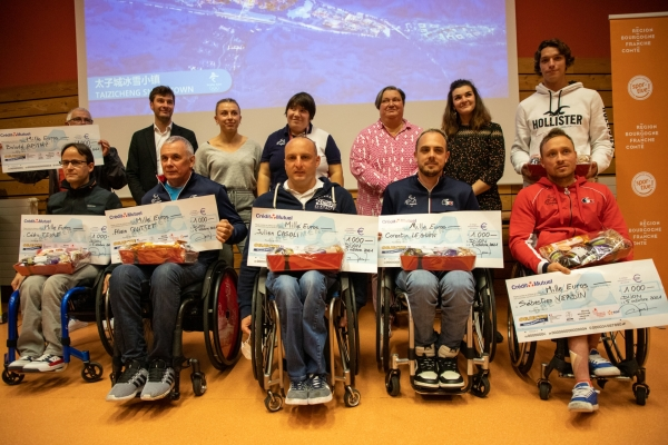 Réception en l'honneur des athlètes Bourguignons présents aux Jeux olympiques et paralympiques de Tokyo 2020