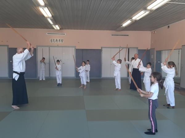 Les cours enfants ont repris à Chalon Aïkido
