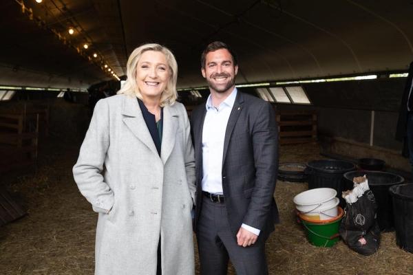 REGIONALES - julien Odoul (Rassemblement National) se félicite des intentions de vote en Bourgogne-Franche Comté