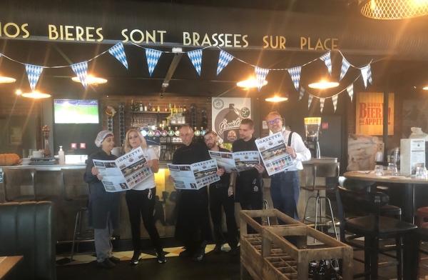 3 Brasseurs Chalon 'La Gazette' : demandez le programme !  Des nouvelles recettes qui allient mets, bières et musique !