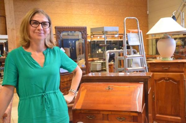 Virginie Pillon, nouvelle patronne de l'Hôtel des ventes de Chalon sur Saône
