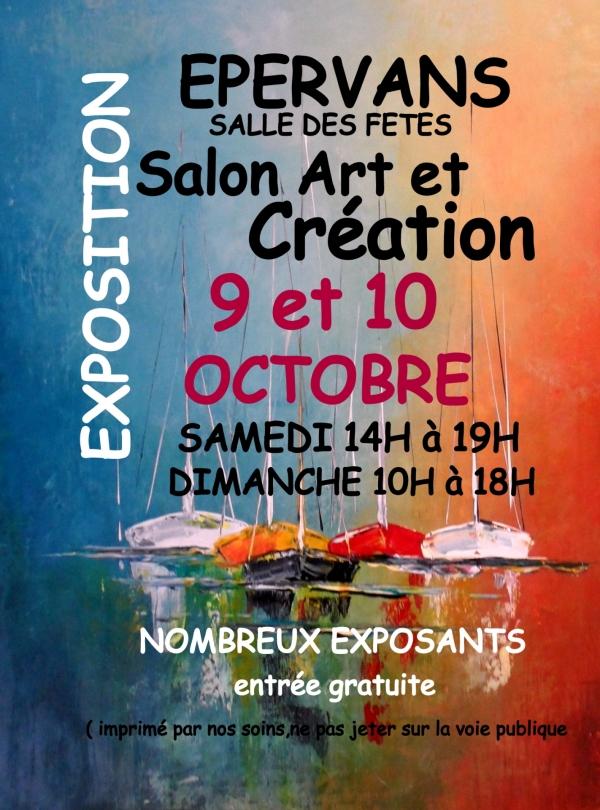 Le Salon Art et Création, c'est ce week-end à Epervans