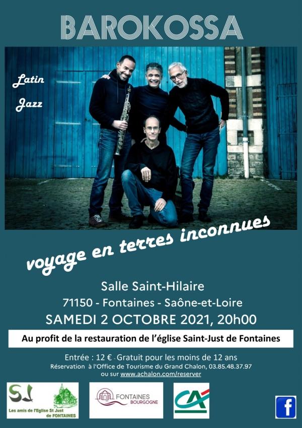 Barokossa en concert avec Les Amis de l'église Saint-Just