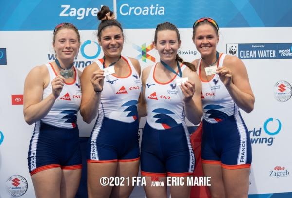 Coupe du Monde à Zagreb : retour gagnant en équipe de France pour la Chalonnaise Marie Jacquet