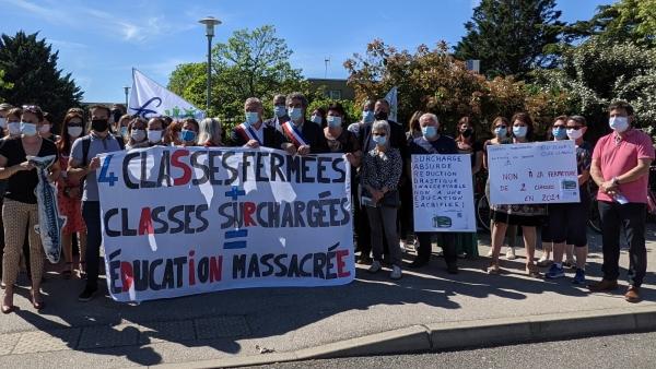 Du côté du Collège de Saint-Marcel, la mobilisation ne faiblit pas