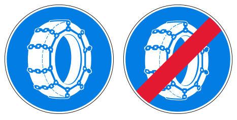 Non ... aucune obligation de pneus d'hiver en Saône et Loire ! explique la Préfecture