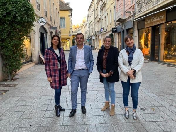 MANIFESTATION - Les commerçants du centre ville de Chalon réclament plus de considération et demandent aux manifestants d'emprunter un itinéraire plus respectueux de leur activité