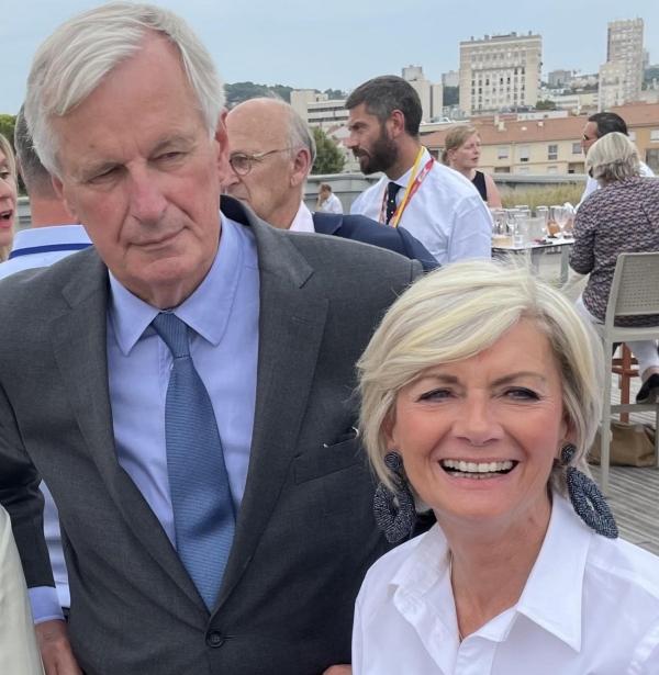 PRESIDENTIELLE 2022 : Michel Barnier à Paray le Monial le 8 octobre