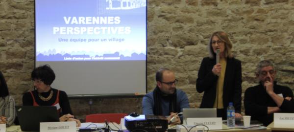 MUNICIPALES - Première réunion publique pour Laurence Jorland à Varennes le Grand