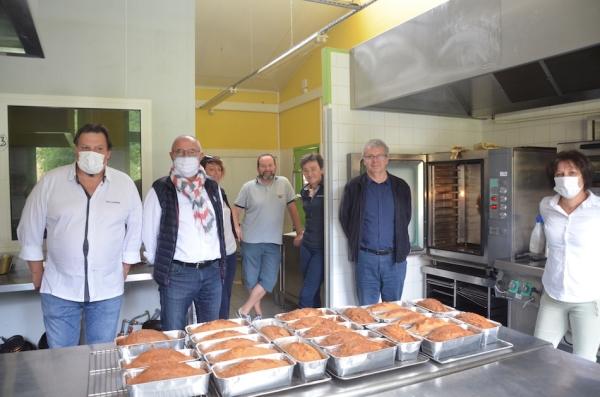 Délicate attention du CIFA Jean Lameloise pour les commerces de proximité de Mercurey
