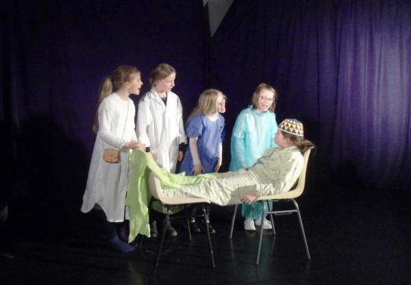 Stage de théâtre pour enfants de 8 à 11 ans