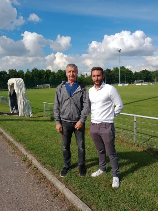 Mathieu Guenot nouvel entraineur du FR Saint Marcel