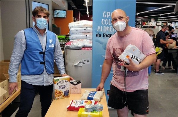 5ème collecte alimentaire givrotine, au profit de la Fédération d'associations chalonnaises d'entraide (FACE)