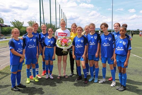 Fête du foot: Premier Challenge Solène Durand organisé par l'ASCR pour les U13 féminines.