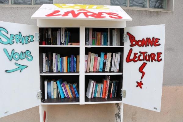 La boite à livres de Champforgeuil, du rêve à la réalité