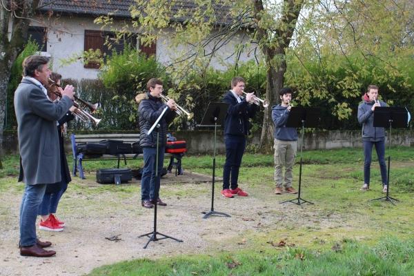 La musique s'invite à la résidence séniors de Champforgeuil