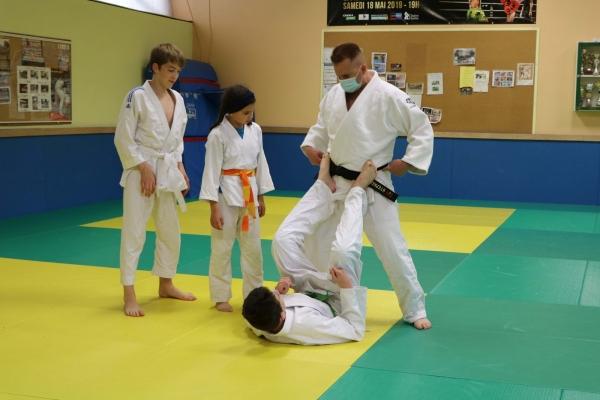 Le club de judo de Saint Rémy a repris les entrainements.