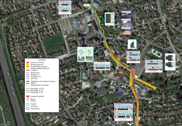 De grands travaux d'aménagement de voirie et du cimetière vont débuter à Saint Rémy.
