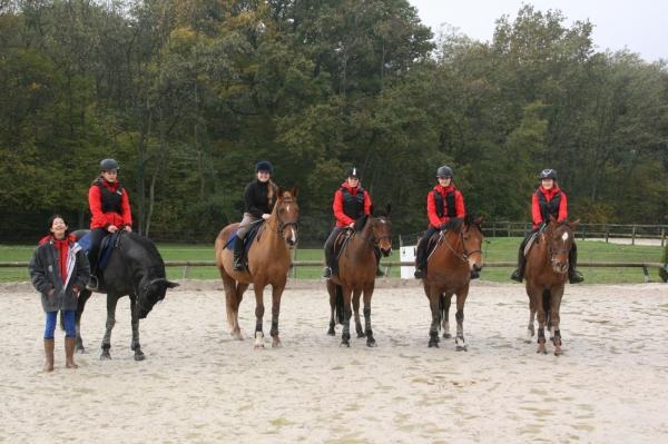 Manège de la Tuilerie : 11 élèves de la Section Sportive allient passion et baccalauréat.