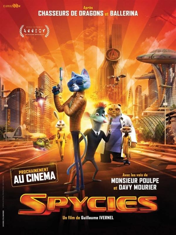 Avant-première de «Spycies» ce dimanche au Mégarama Chalon