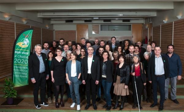 MUNICIPALES - Retour sur la soirée de présentation de la liste et du projet de Bien Vivre à Chalon 2020