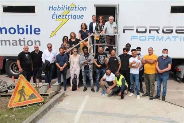 Bilan positif pour les intérimaires d'Eureka à Chalon-sur-Saône