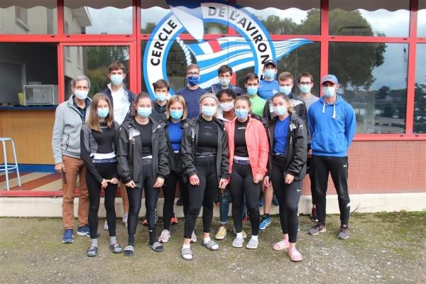 Bonnes performances du Cercle de l'aviron de Chalon-sur-Saône aux championnat de France d'aviron cadets et juniors