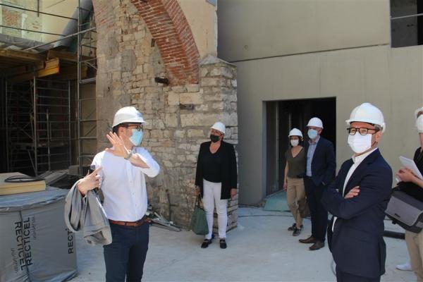 Le chantier de l'Usinerie à Chalon-sur-Saône avance à grands pas