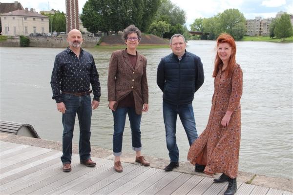 DEPARTEMENTALES - CHALON 1 - Le Printemps Chalonnais est présent dans le canton avec Anne Jost et Hervé Maillot