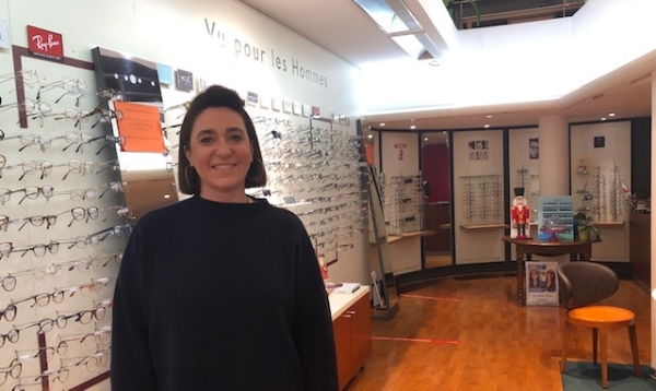 Aude ALEXANDRE : Les visites à domicile de votre opticien pour vous faciliter… la vue!