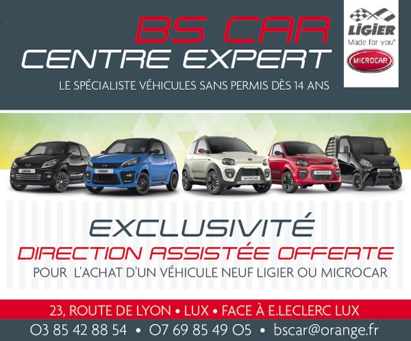 BS CAR Lux – Voiture sans permis