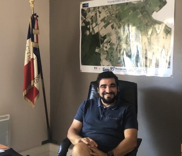 Éric VALENTIM, un jeune maire très engagé pour Varennes-le-Grand