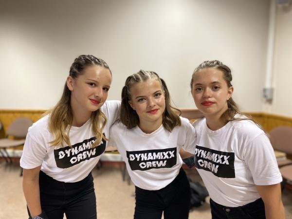 Le groupe Dynamixx encadré par la Cie chalonnaise Flex Impact et l'école IMPACT SCHOOL / URBAN DANCE se distingue