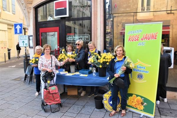 Mobilisation du Lions Clubs de France pour l'Alzheimer