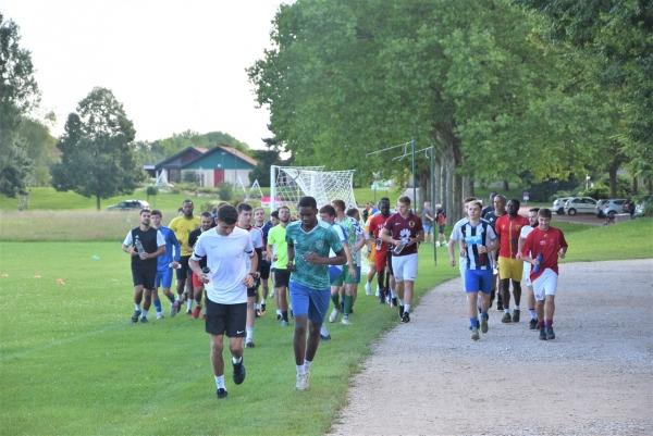Reprise d'entrainement pour les footballeurs séniors du FC Chalon