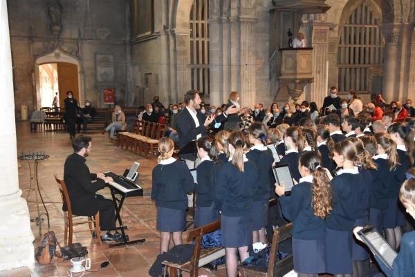Concert de rentrée pour la maitrise Saint-Charles à la Cathédrale Saint-Vincent